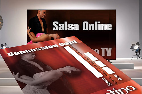 Salsa 101 Package Deal -  Red Concession & 10 Videos