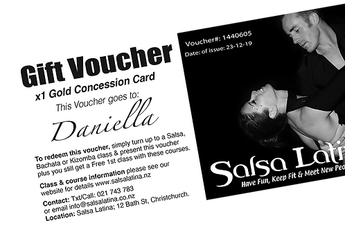 "Gift Voucher ""Load Items on this Voucher"""