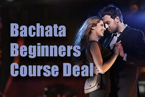 Bachata Beginners 101 Wednesday Course Deal