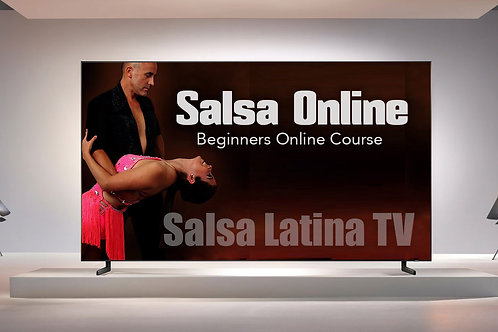 Online Video Salsa Beginners Dance Course
