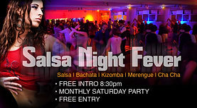 Salsa night fever Party & Latin Dance Class