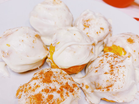 Pumpkin Pie Truffle Balls | No Bake Dessert