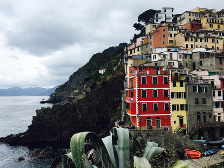 Visiting Cinque Terre from Florence