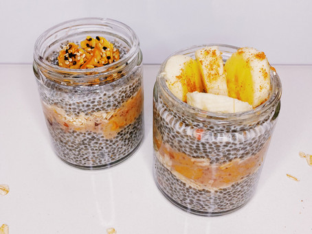 Chia Pudding & Oat Jars