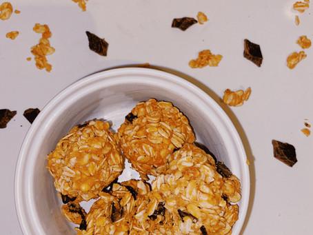 No Bake Peanut Butter & Oat Balls