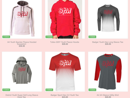 STM Track Suit and STM Spiritwear Sale!