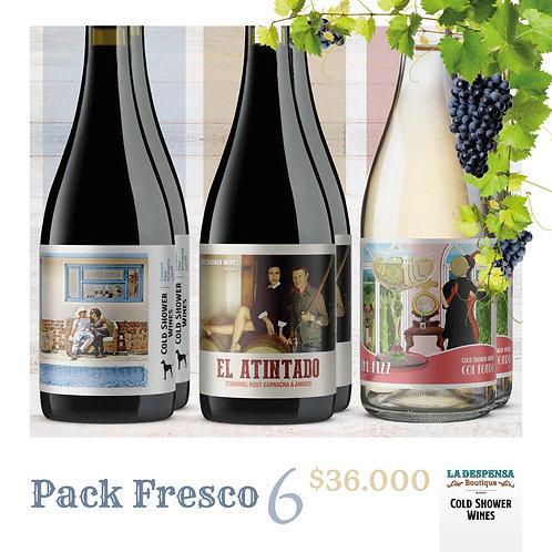 Pack Fresco x 6