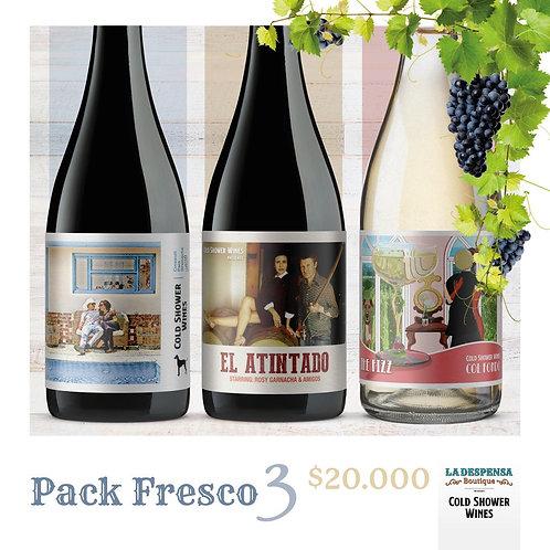 Pack Fresco x 3