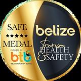 Go Sea Tours Belize Safe Medal