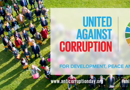 BPP STATEMENT ON INTERNATIONAL ANTI-CORRUPTION DAY - 2016