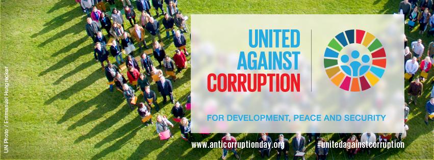 #UnitedAgainstCorruption