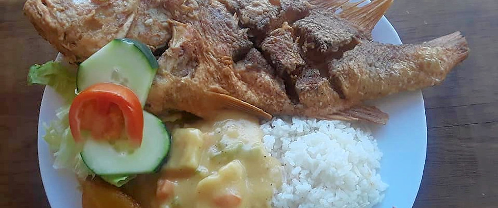 cheap food in Placencia