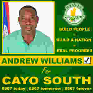 Andrew Williams | BPP | Cayo South