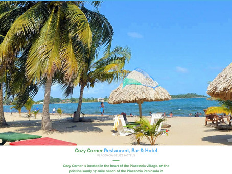 RECENT PROJECT: Cozy Corner Restaurant, Bar and Hotel in Placencia, Belize