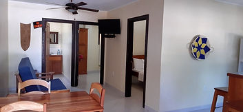 2 two bedroom garden apartments Placencia