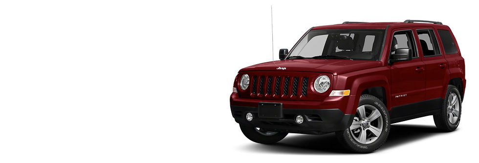 Red Jeep Patriot Rental | Koool Rental Services