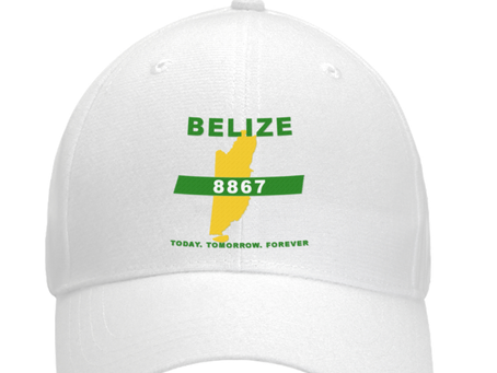 TELL THE WORLD YOU LOVE BELIZE BY PURCHASING THIS COOL CAP FOR WARM DAYS