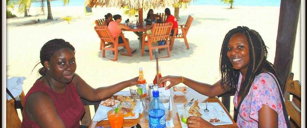Placencia beachfront restaurant