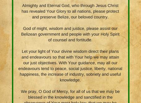 Good Night Belize, Let Us Pray
