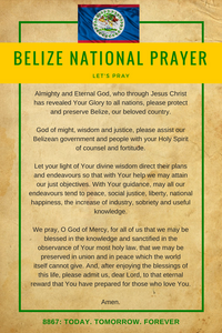 Belize National Prayer - Let's Pray