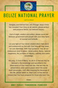 Belize National Prayer - Let's Pray