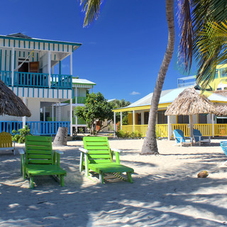 Beachside hotel in Placencia