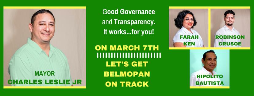BPP Belmopan 2018 Municipal Elections Team