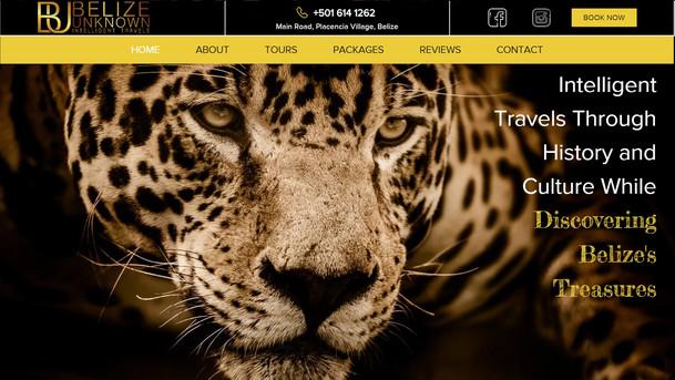 Belize Unknown Website Project