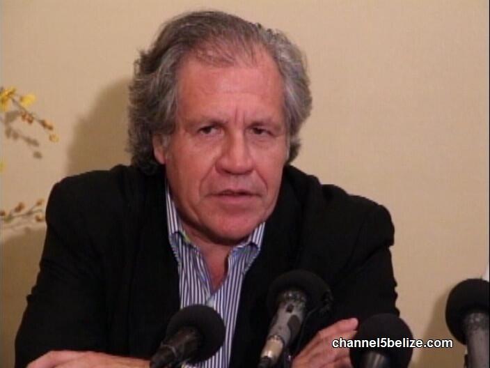 Luis Almagro, Secretary General, O.A.S
