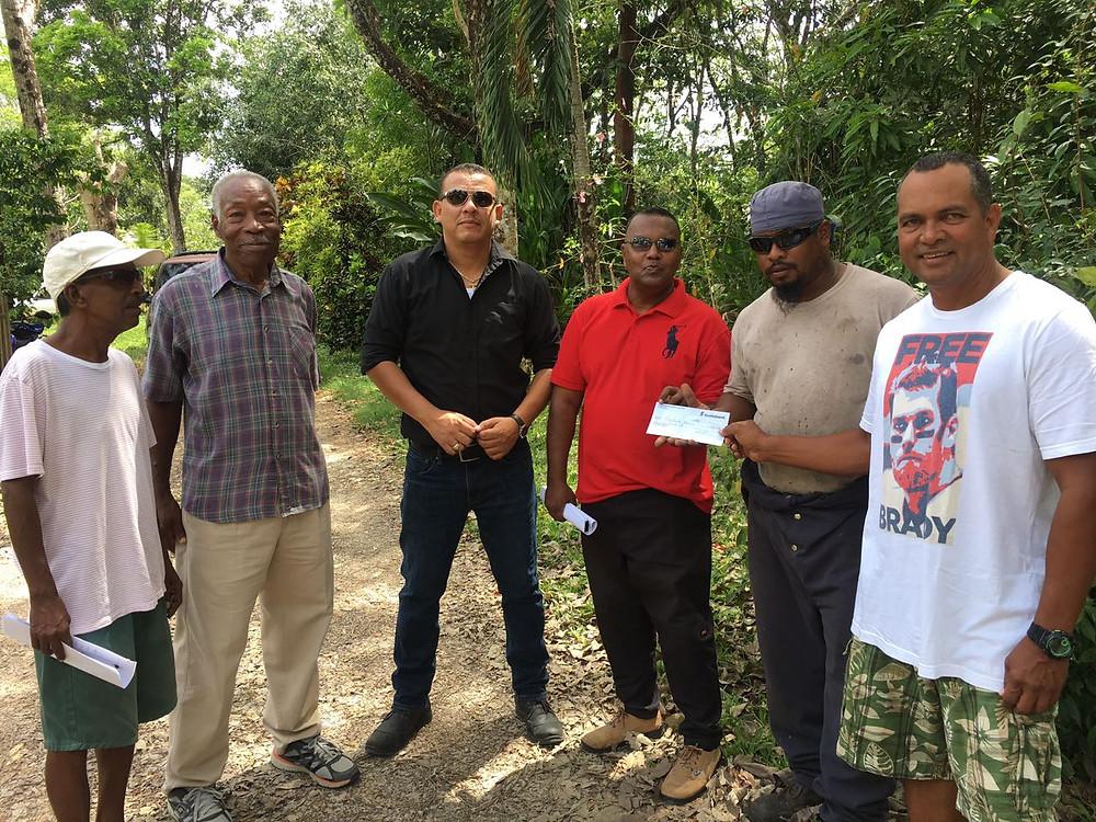 Wil Maheia BPP donates