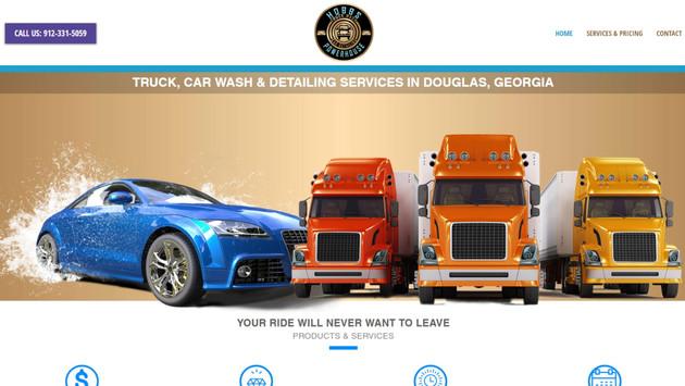 Hobbs Powerhouse Truck Wash Website Project