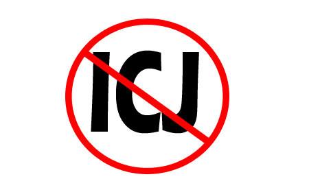 NO TO ICJ
