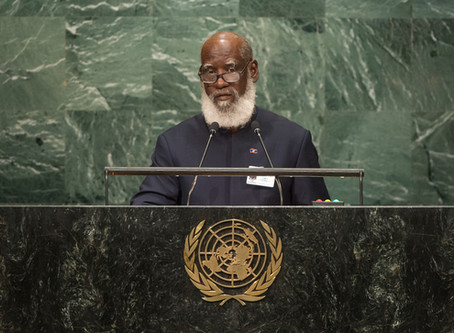 Re: Belize finally calls out Guatemala at United Nation General Assembly