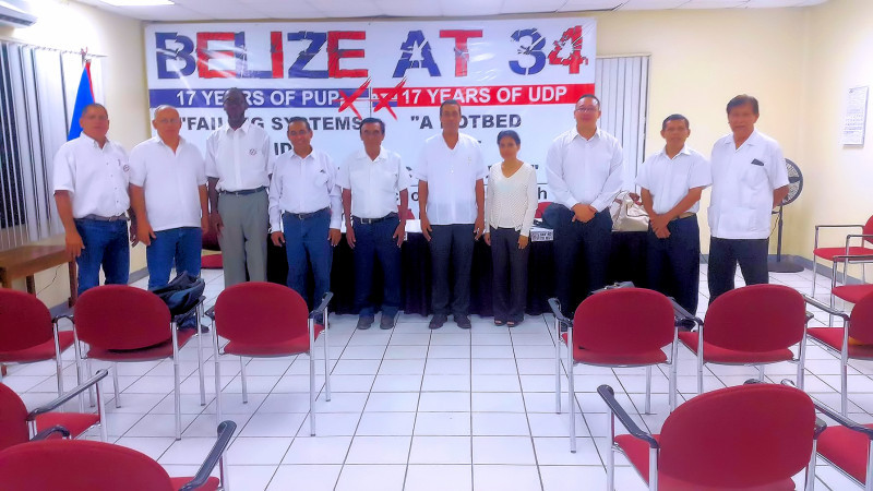 Belize Progressive Party's First Anniversary