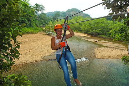 Zip Lining & Cave Tubing From Placencia