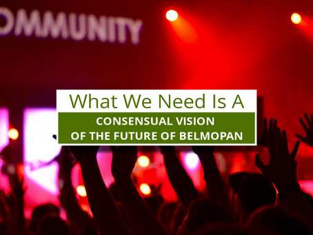 A Consensual Vision of the Future of Belmopan