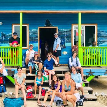 Go Sea Belize Tour Guests in Placencia