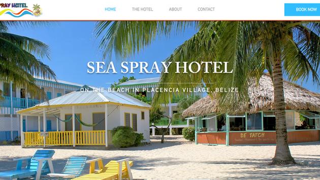Seaspray Hotel Website Project