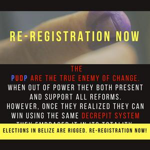 Re-Registration Now Belize