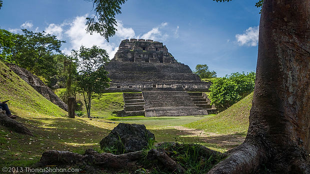 XUNANTUNICH AND BLUE HOLE NATIONAL PARK TOUR