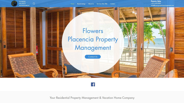 Flower's Property Management Website Project