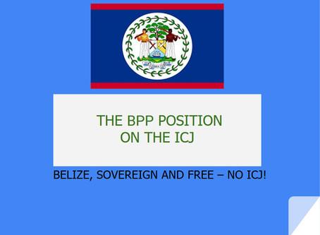 Review our BPP Presentation - Belize, Soverign and Free - NO ICJ