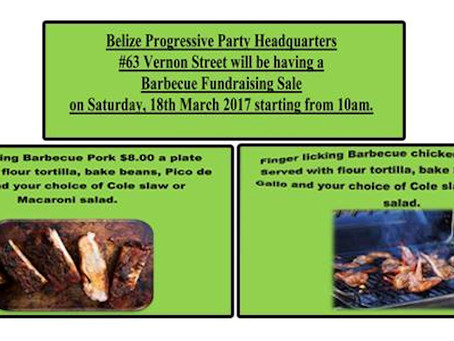 BPP BBQ FUNDRAISER | MARCH 18TH, 2017
