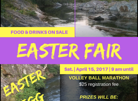 EASTER FAIR IN SAN PABLO VILLAGE | FUNDRAISER FOR SCHOOL