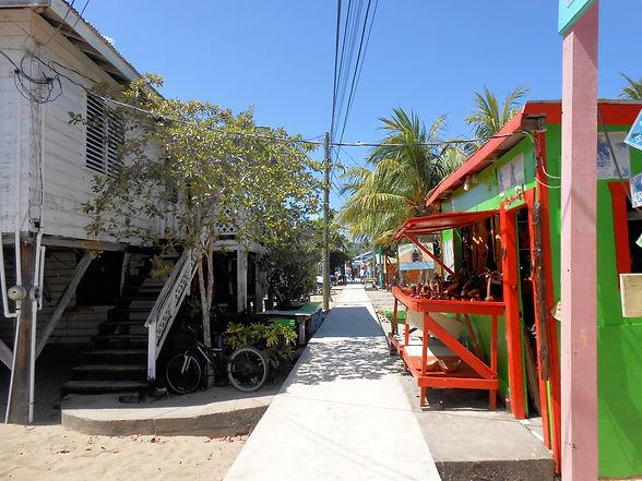 Placencia Sidewalk | Imani's Inn Placencia