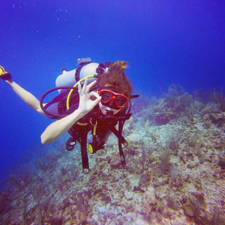 Scuba Diver Placencia