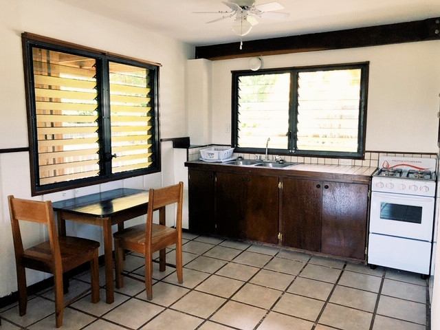 Aqua Rentals - Downstairs Cabana | Placencia Rentals
