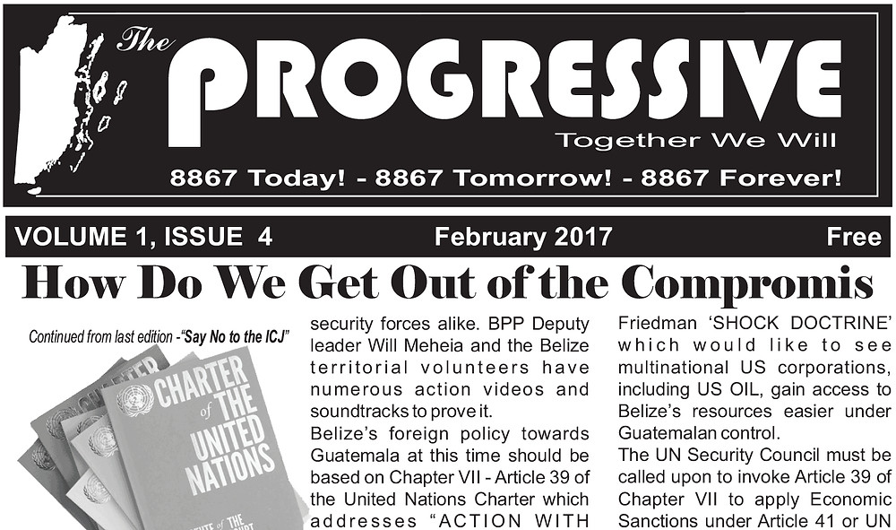 The Progressive Vol. 1 Issue 4