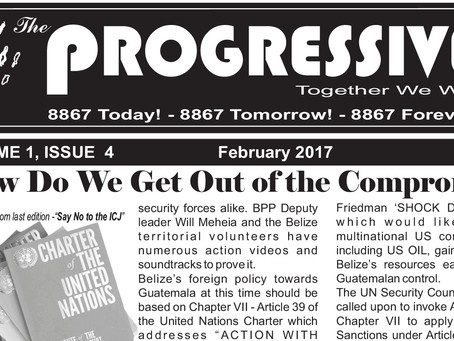 The Progressive Newspaper | Volume 1, Issue 4