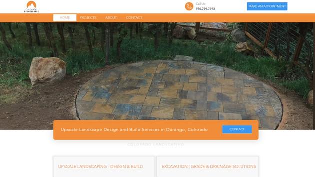 Colorado Stonescapes Website Project